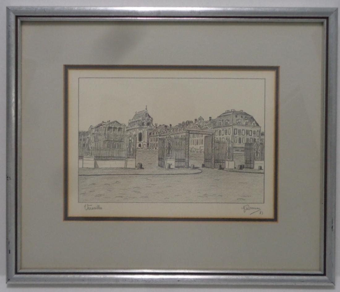 Original Versalles Draw Painting.