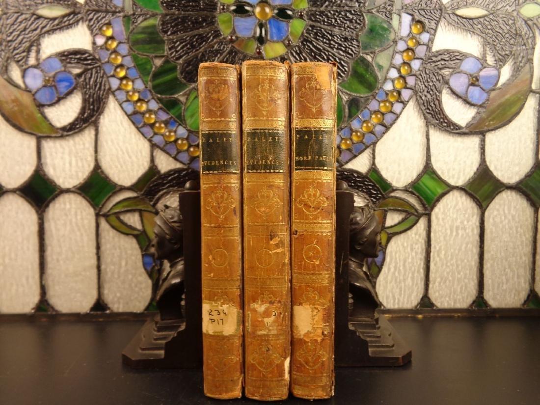 1796 William Paley Evidences Christianity + Horae Pauli