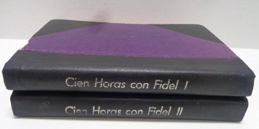 """Political History """"Cien Horas Con Fidel"""" Tomo 1 & 2. Ha"""