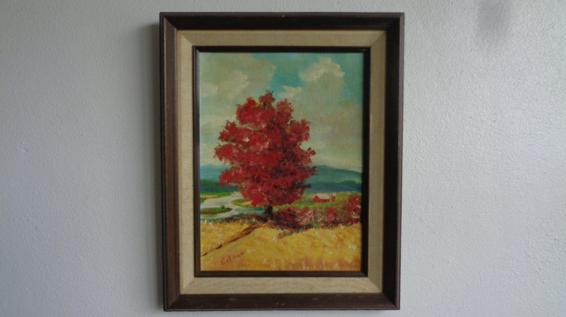 Original oil painting on Canvas panel California Landsc
