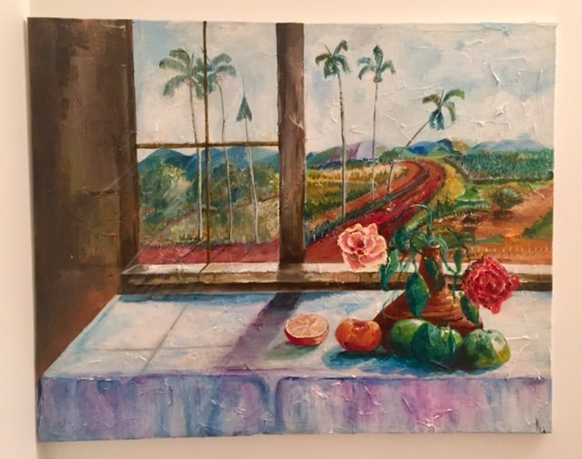 Original Contemporary Latin American Oil Painting