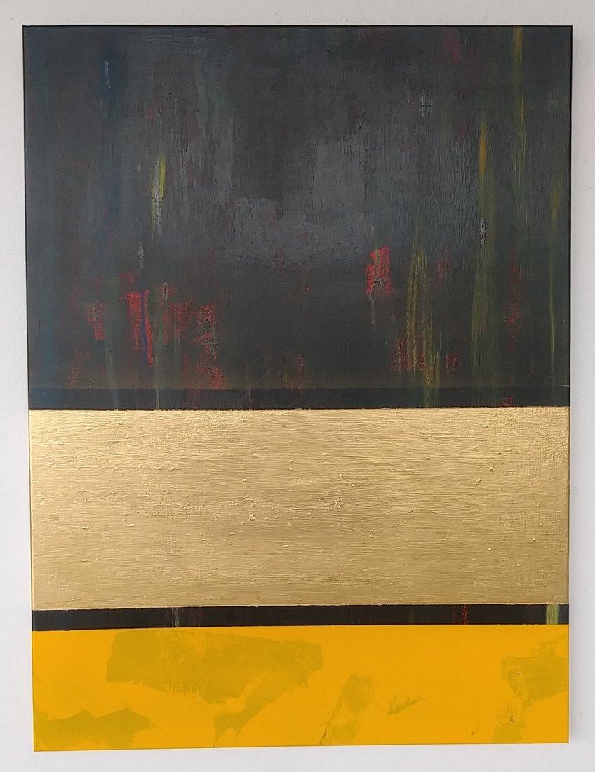 Original Abstract Modern Painting W New York. Acrylic o