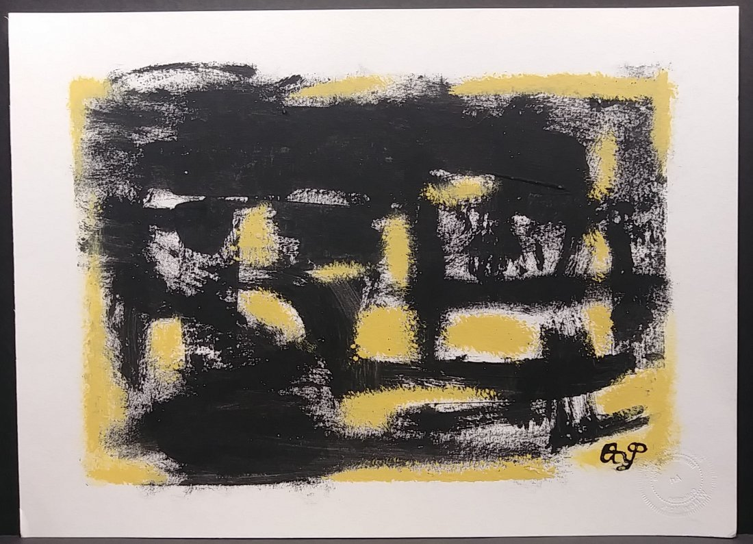 Original New York Exhibit Original Abstract Painting