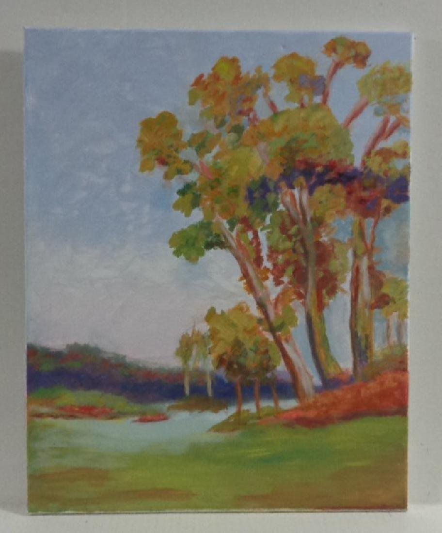 Original W. Berger California  Landscape Painting