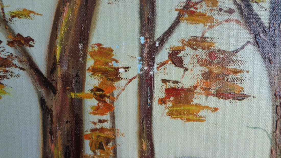 Original Oil on Canvas Board- signed- T - 3