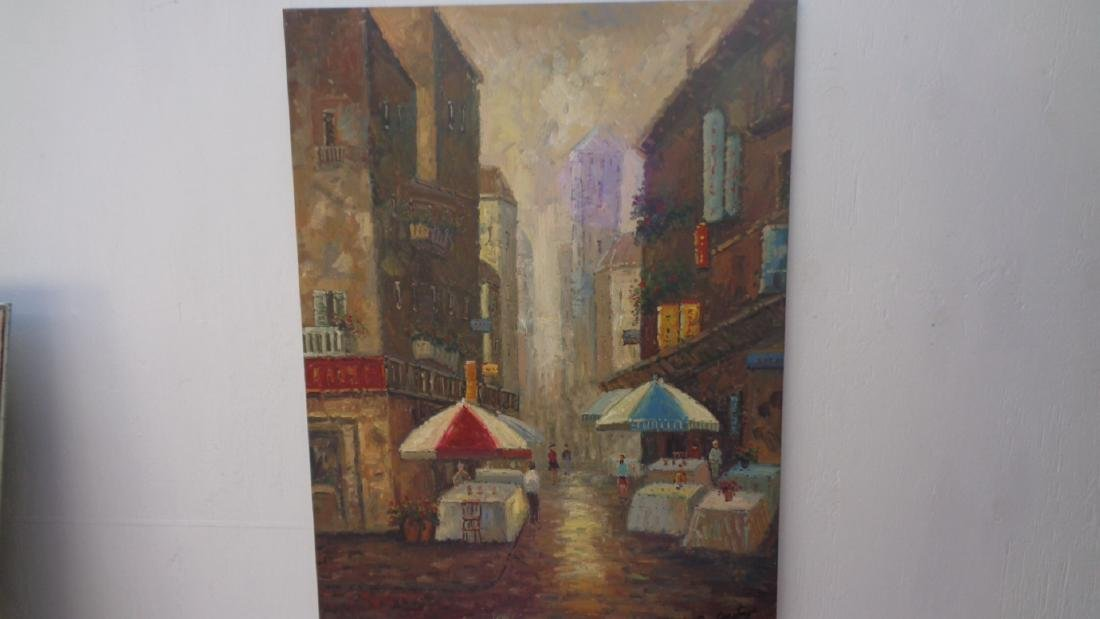 Large Hand Painted Oil Painting 36x48