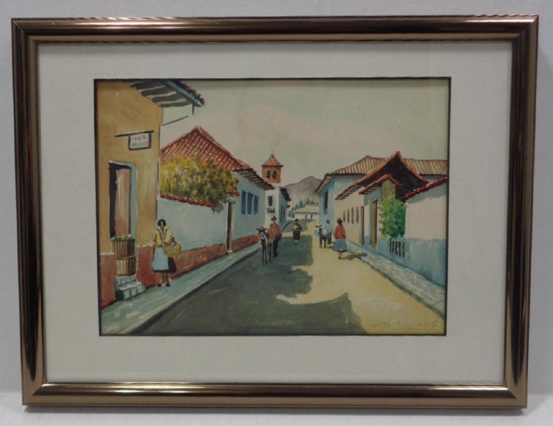 1961 Landscape- Water color - 2