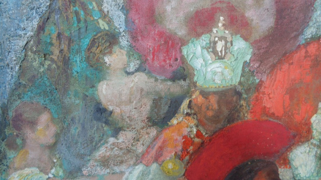 Antique Painting Signed - 6