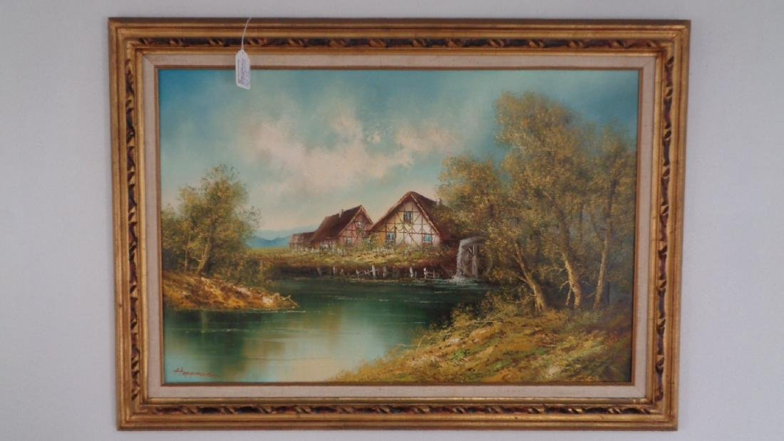 Slaters Bridge Lake District MULTI CANVAS WALL ART Boxed Framed