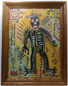 Jean Michel-Basquiat (American, 1960-1988): Untitled,S