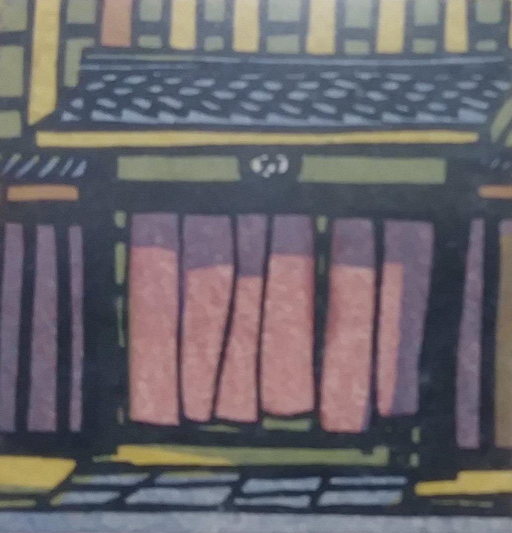 "1965 Original Ichiriki- Kyoto (Geisha""tea house) Signed - 2"