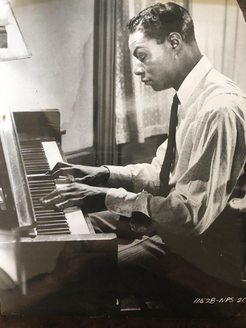 Vintage Nat King Cole St Louis Blues Original Photo