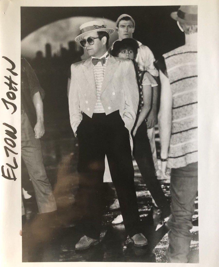 Vintage Elton John Pop Star Original  Photo. 8 x 10 in