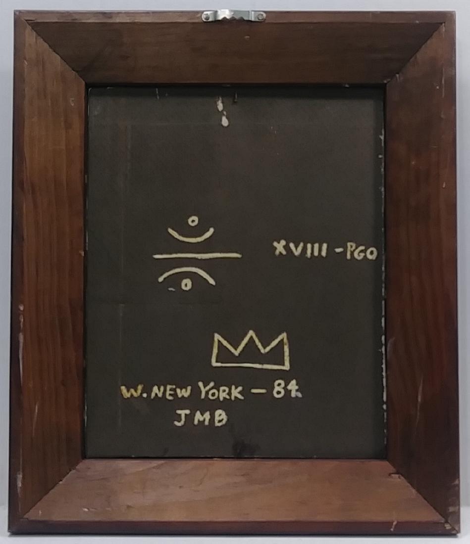 Jean Michel-Basquiat (American, 1960-1988): Untitled 83 - 4