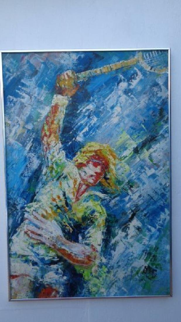 Modern Contemporary Original Large Oil Painting - 2