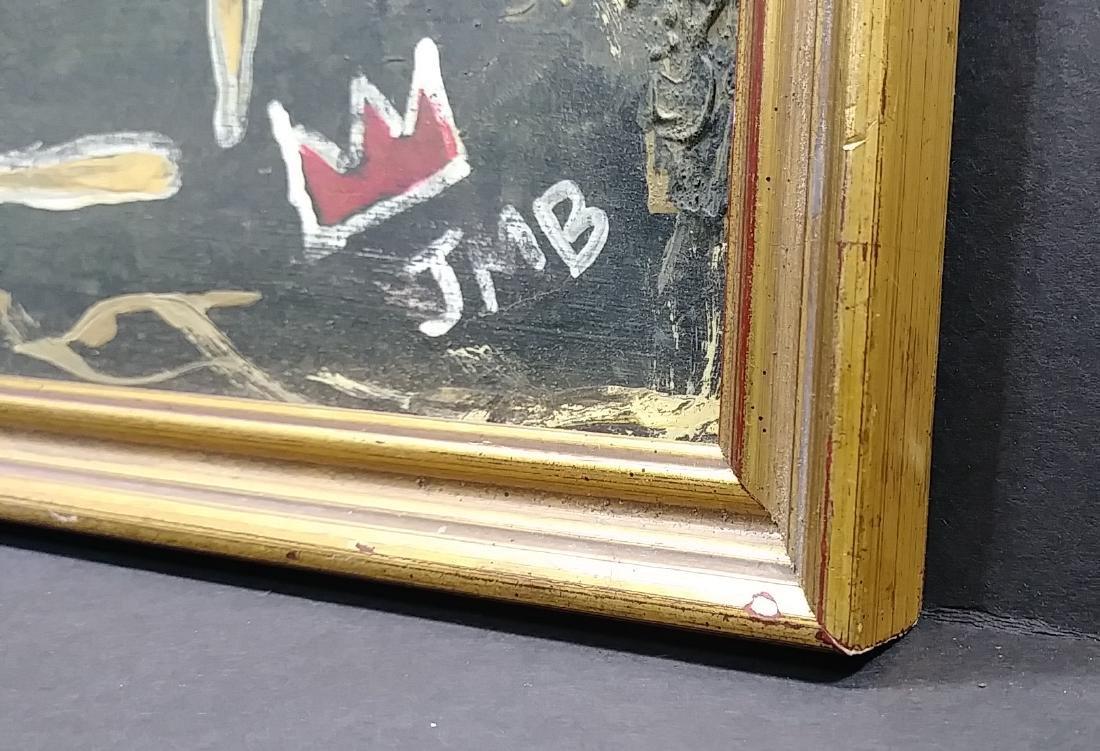 Jean Michel-Basquiat (American,1960-1988):Self Portrait - 3