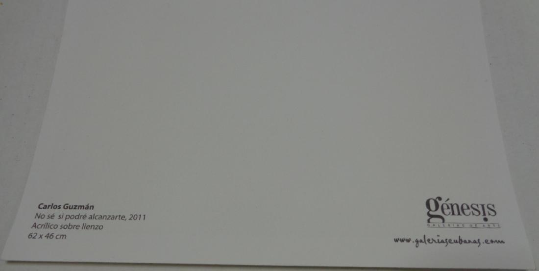 Carlos Guzman (No Se Si Podre Alcansarte) Lithograph - 2