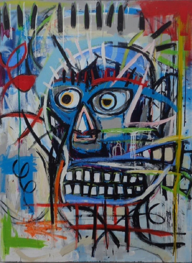 Jean-Michel Basquiat New York Street Art Painting
