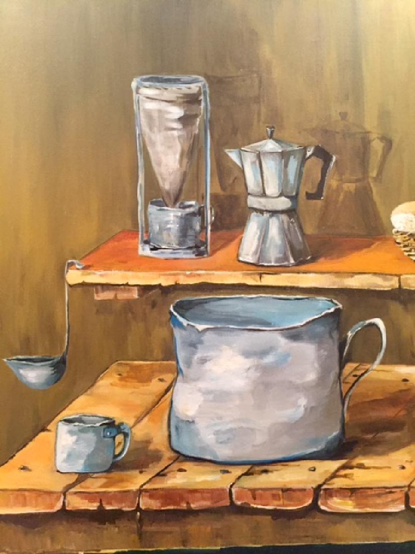 Original Contemporary Latin American Oil Painting - 3