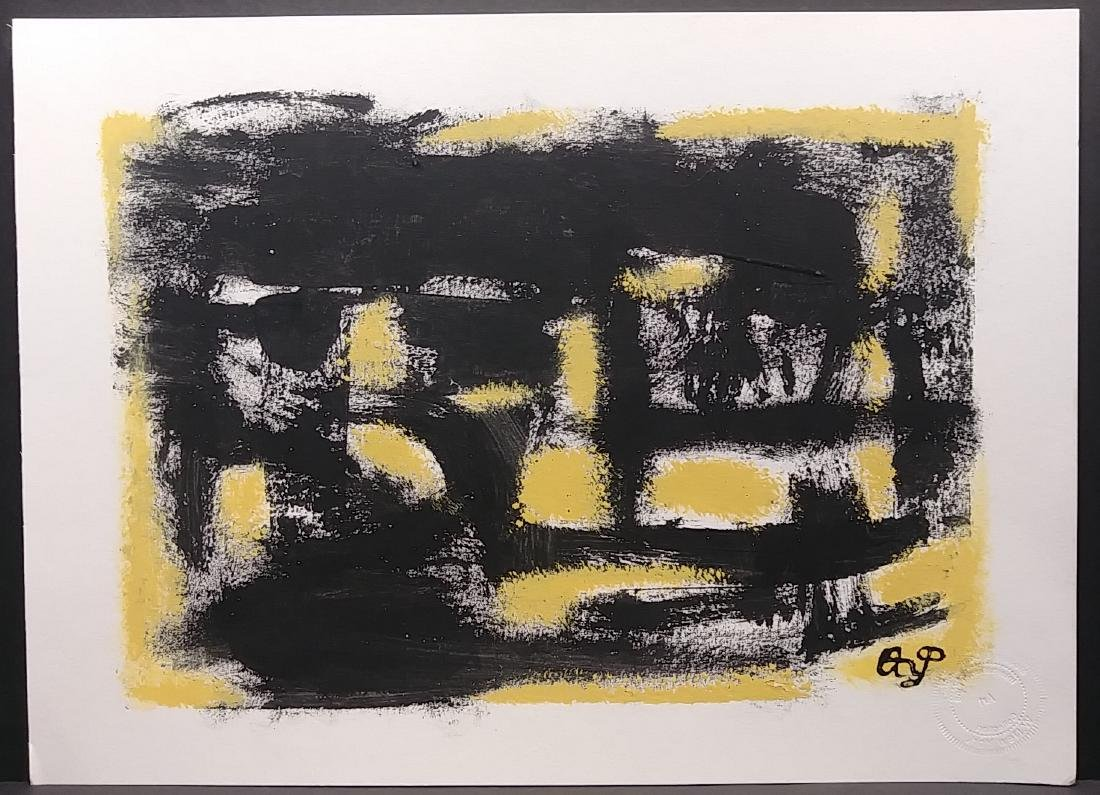 Original New York Exhibit Original Abstract Painting
