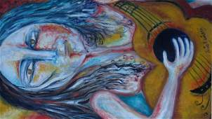 Julio Aguilera (Venezuelan) Contemporary Artist Based