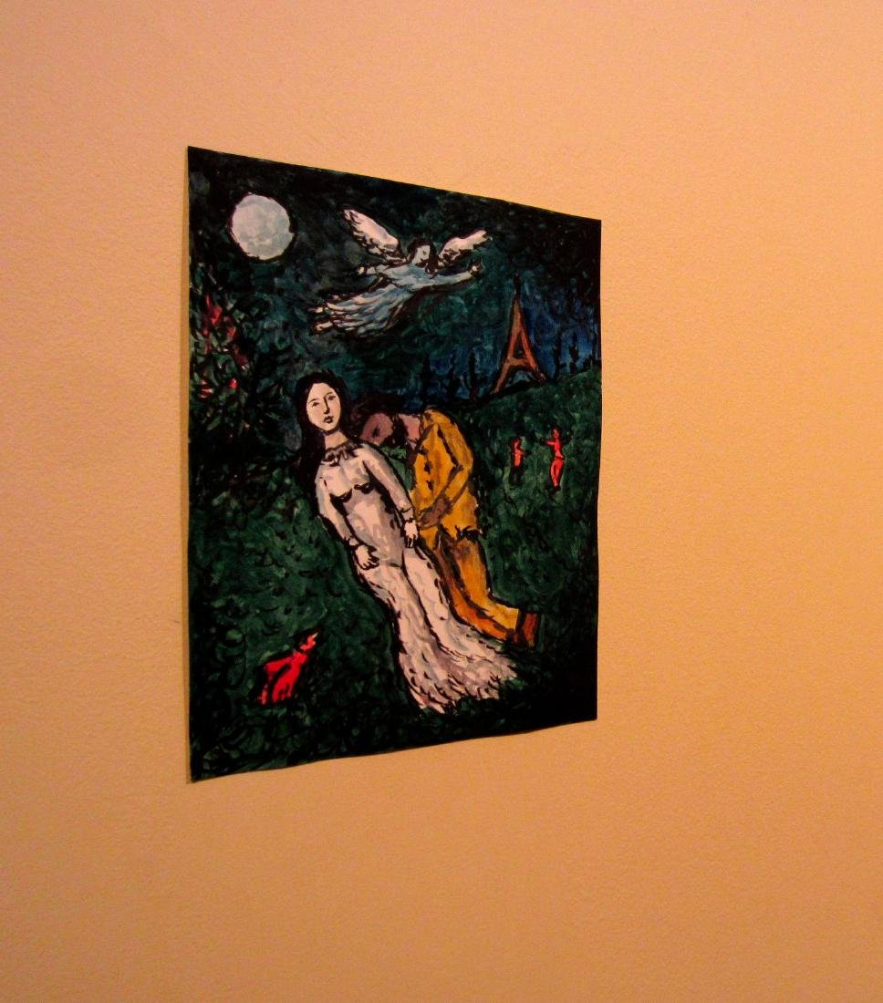 Marc Chagall Russian Avant Garde Expressionism Painting - 2
