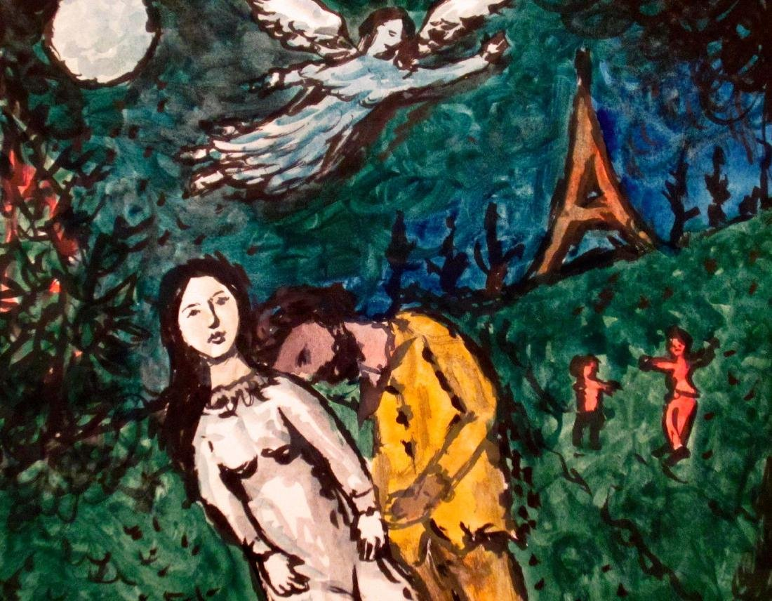 Marc Chagall Russian Avant Garde Expressionism Painting - 3