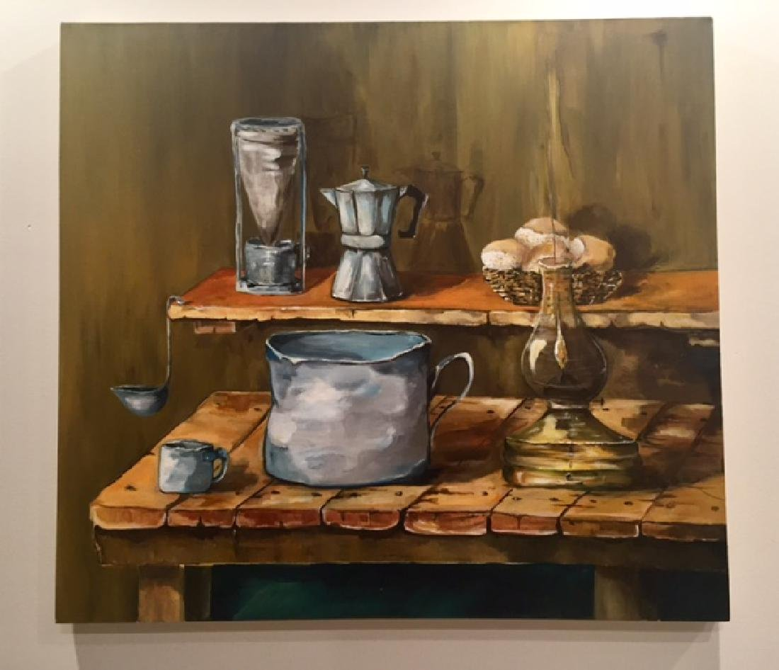 Original Contemporary Latin American Oil Painting
