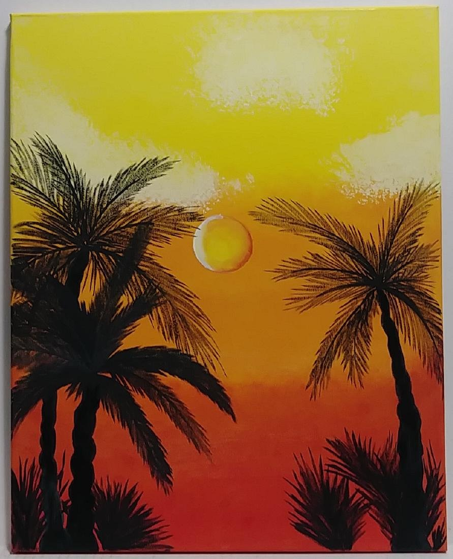 Stuart Florida Painting Landscape Painting on Canvas