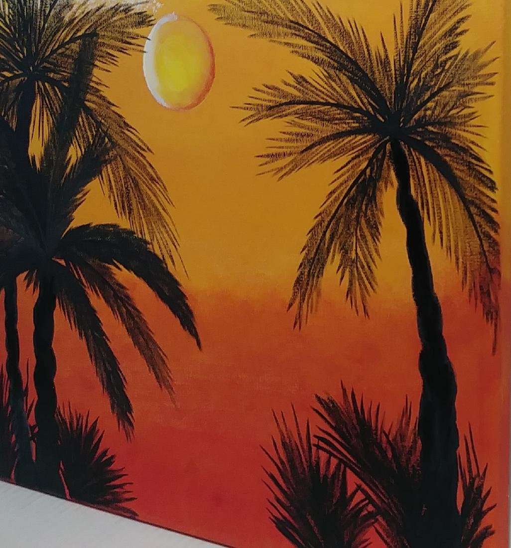 Stuart Florida Painting Landscape Painting on Canvas - 3