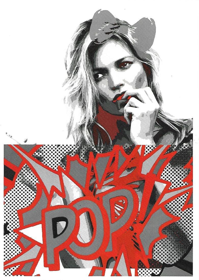 Death NYC Signed Pop Art Lithograph W/COA
