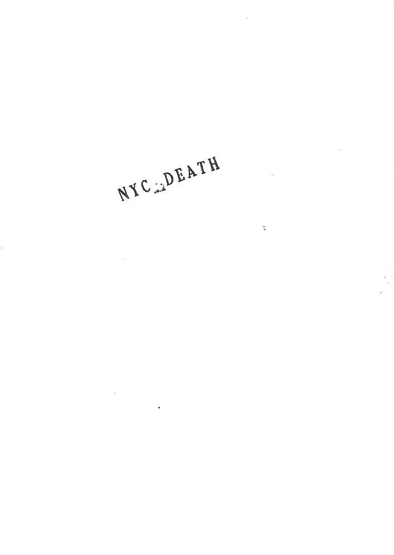 Death NYC Signed Pop Art Lithograph W/COA - 2