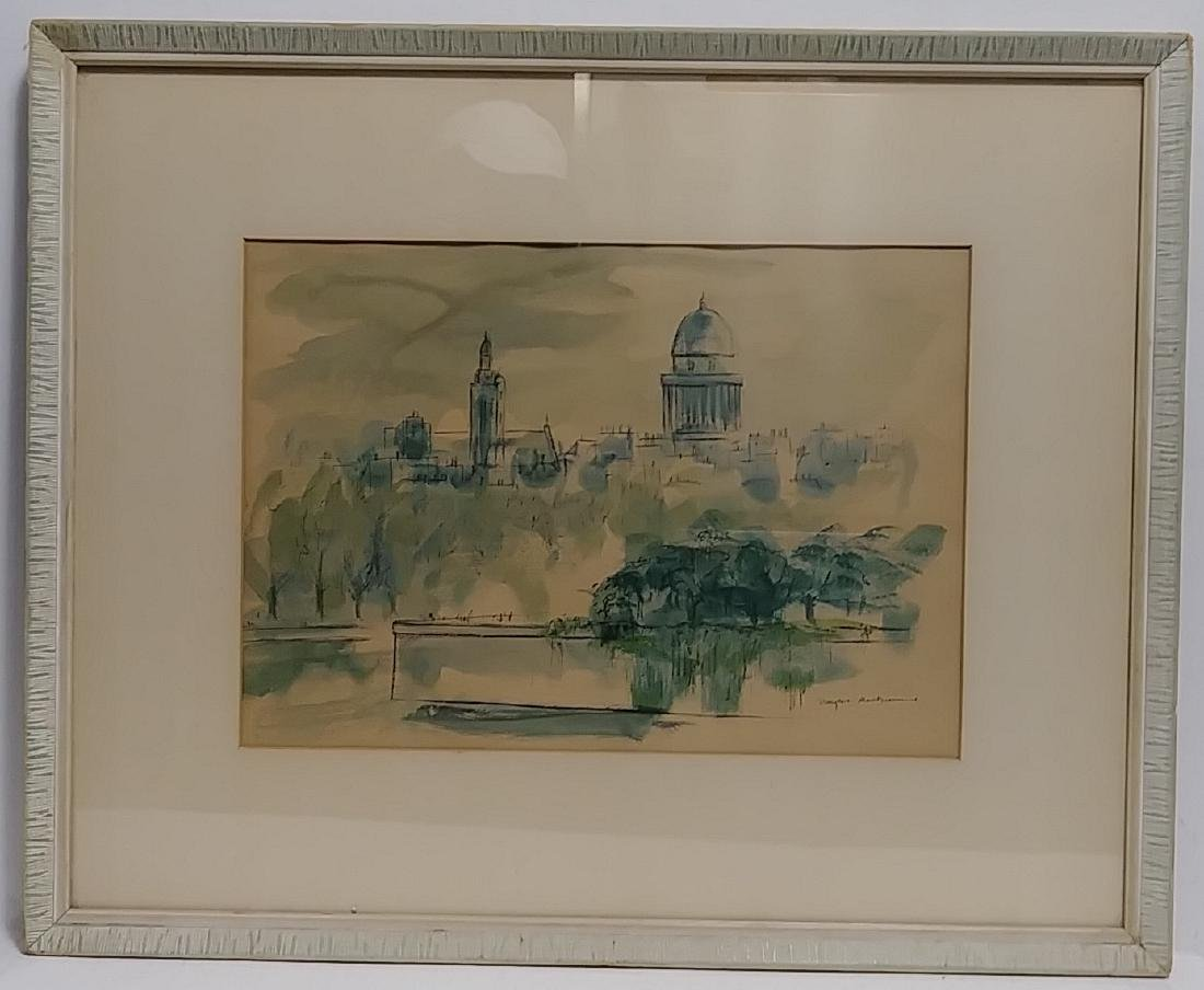 Original Douglas MacDiarmid, Painting Signed