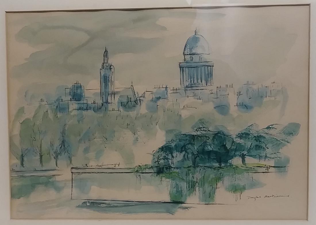 Original Douglas MacDiarmid, Painting Signed - 2