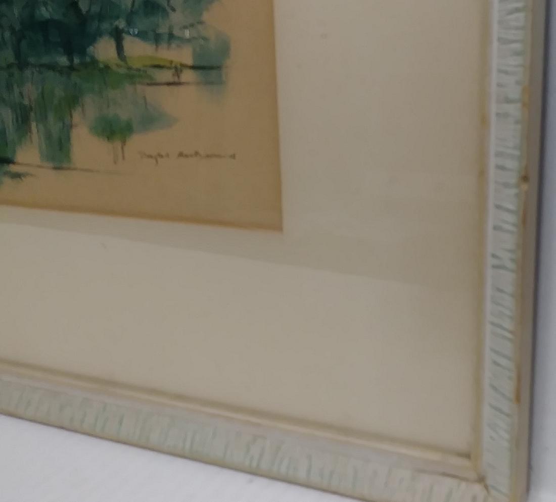 Original Douglas MacDiarmid, Painting Signed - 3