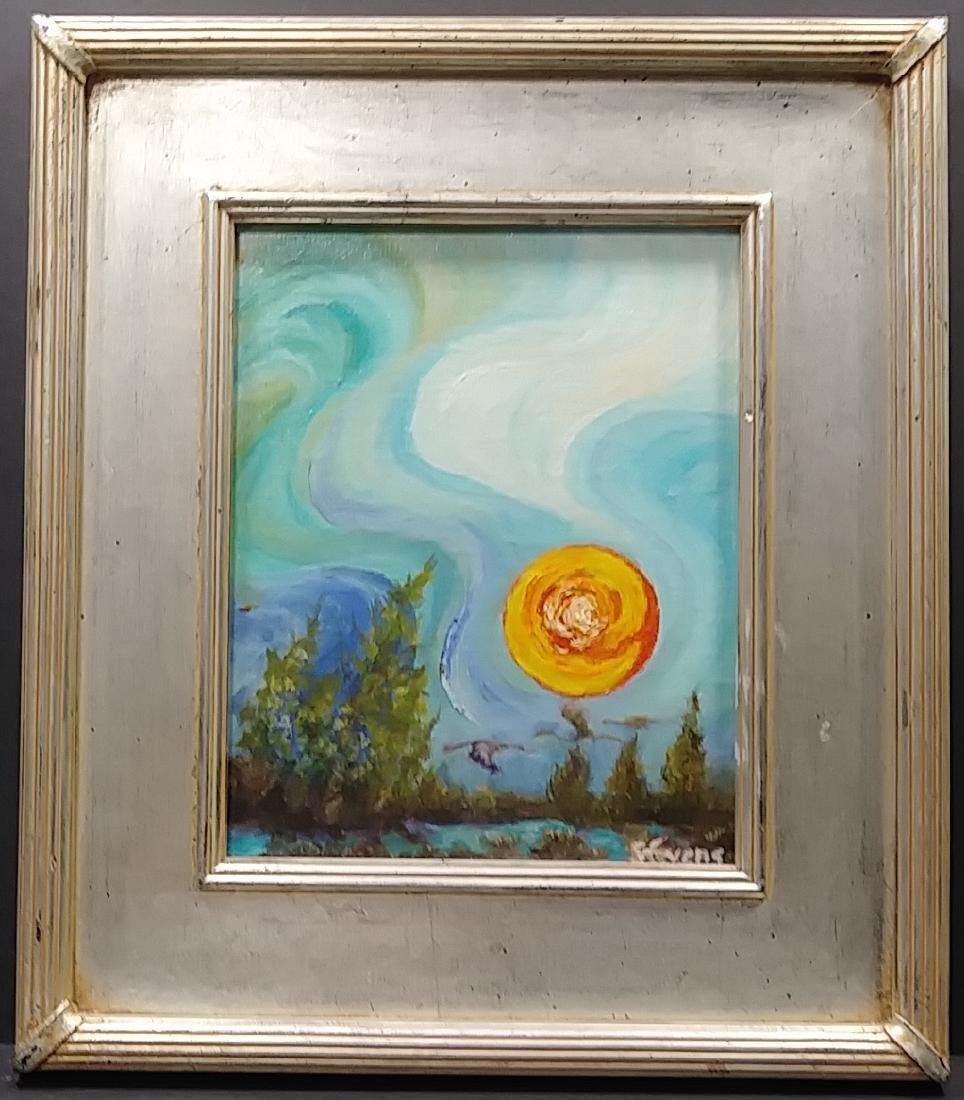 Original Oil Painting on Canvas Signed. Stuart, Florida