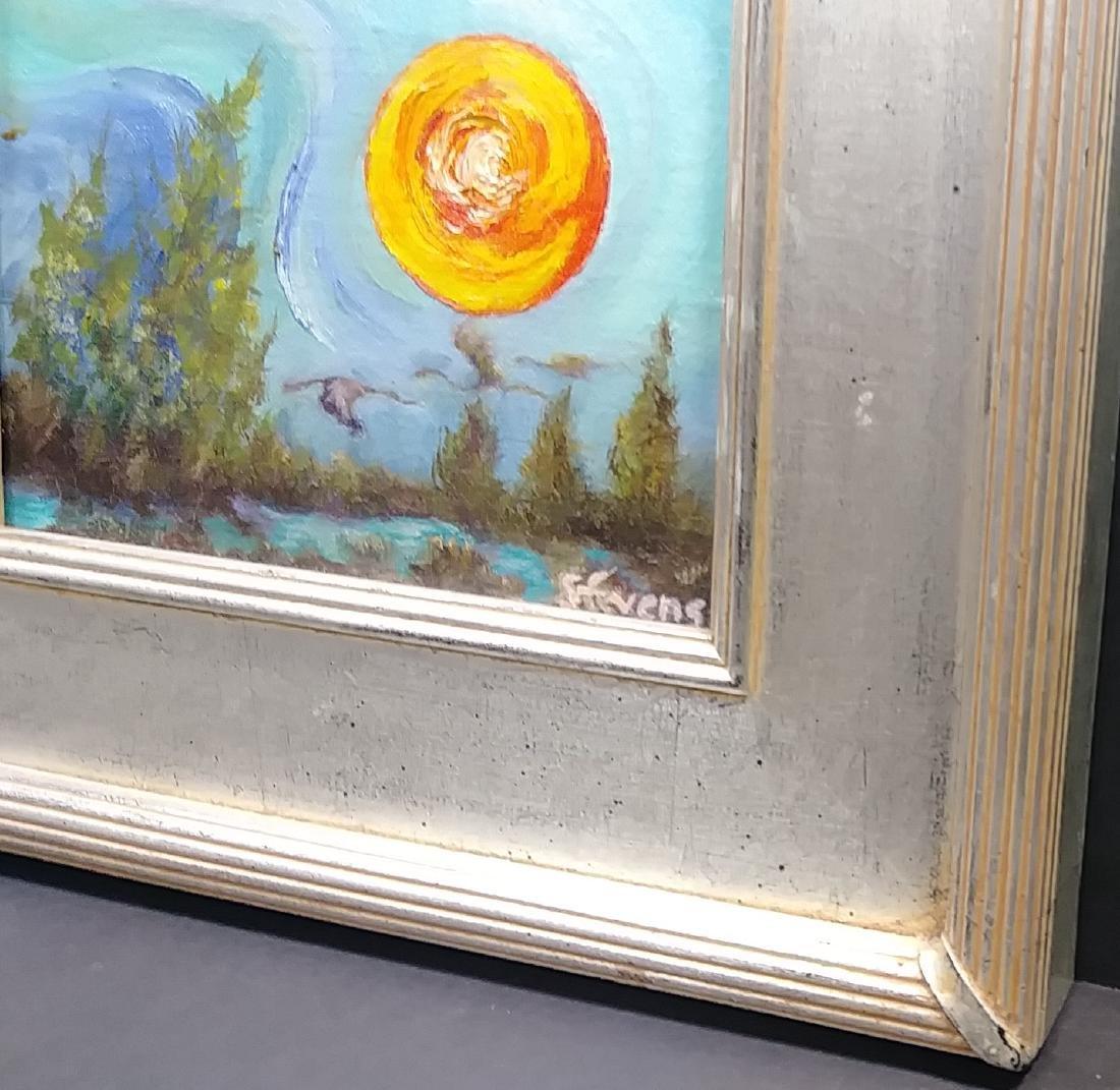 Original Oil Painting on Canvas Signed. Stuart, Florida - 2