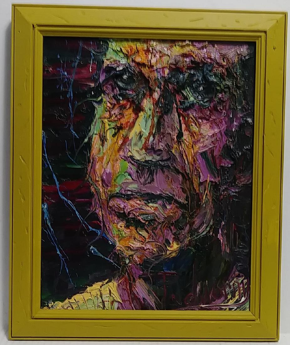 Extra Tick Impasto Oil Painting Signed
