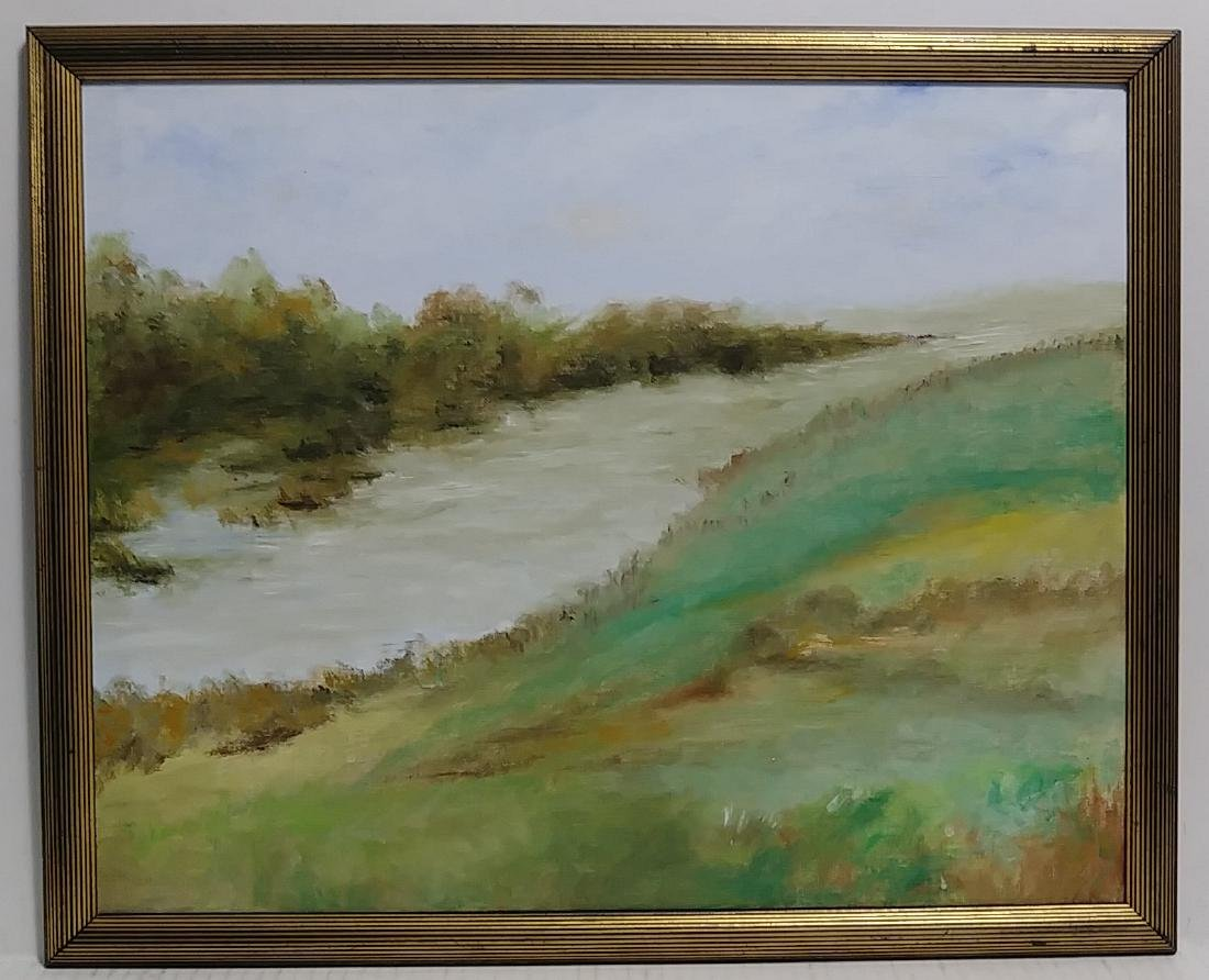 L. Hulsey Mass-Plain Air Oil Painting Lanscaped