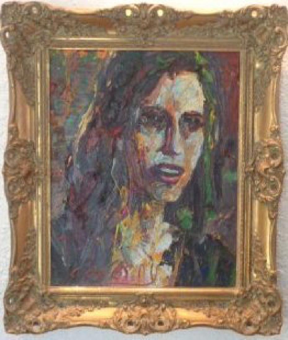 Extra Thick Impasto Figurative Oil Painting