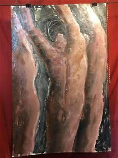Woodstock Impressionist Ralph Neaderland Oil Painting