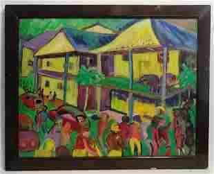 Eleanor Dumbar Oil Painting on Canvas