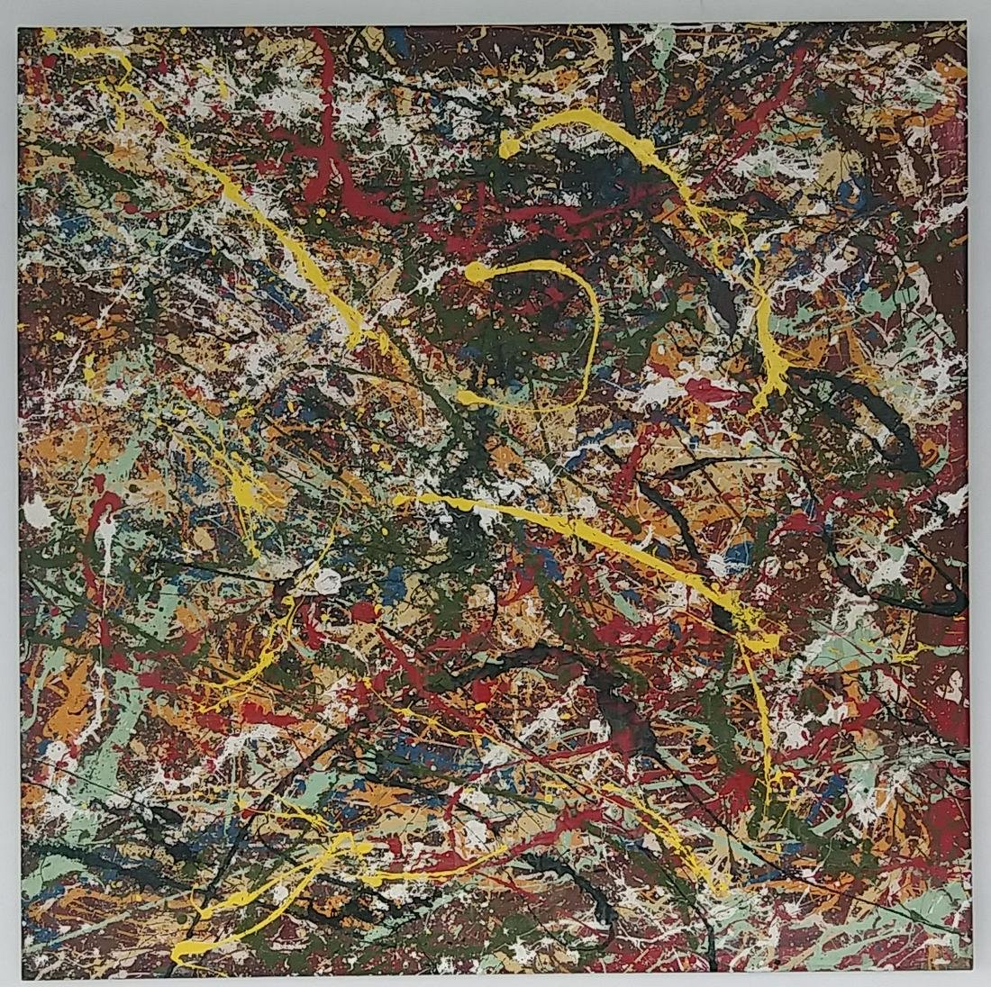 Jackson Pollock After. Abstract Paint