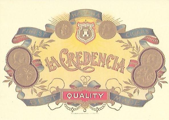 Cigar Label Collectible Postcard