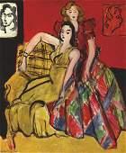 Henri Matisse Two Young Women Fine Art Print
