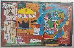 Original N York Neo Expressionism Painting