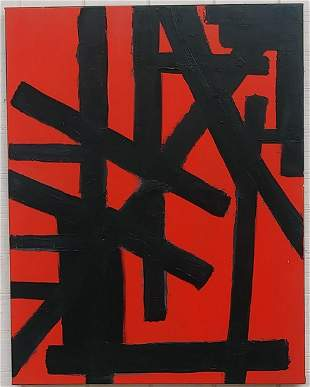 LARGE CONTEMPORARY ORIGINAL MODERN ABSTRACT PAINTING