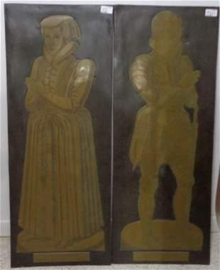 Lot of 2 - Sir Nicholas Wadham 1609 II Minister Sumerse