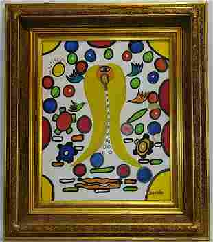 Gustavo Jaramillo (b.1956) Surrealism Abstrat Painting