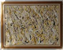 XL Jackson Pollock After Abstract Modernist Painting